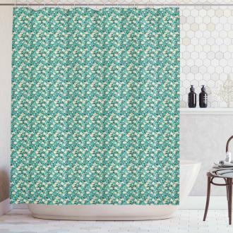 Flourishing Magnolia Shower Curtain