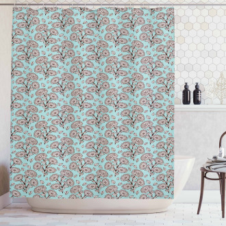Romantic Garden Art Shower Curtain