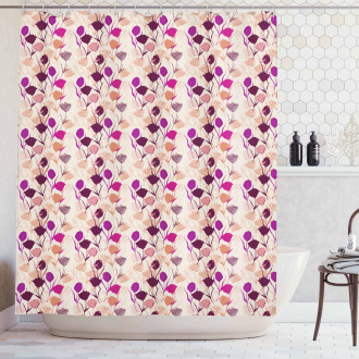 Carnations and Tulips Shower Curtain