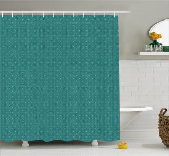 Interlaced Ornament Shower Curtain
