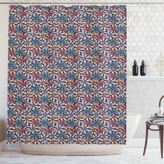 Conch and Kings Crown Shower Curtain