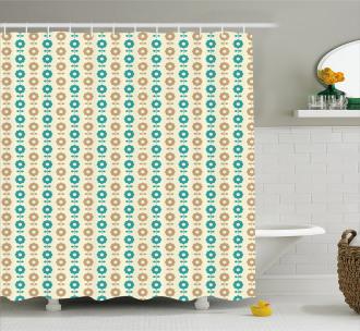 Simple Daisies Shower Curtain
