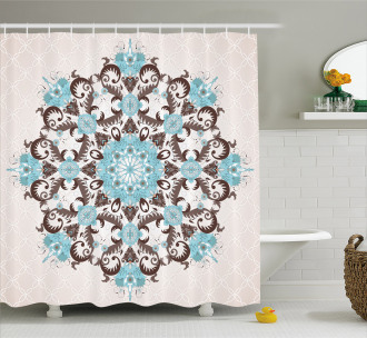 Mandala Antique Shower Curtain