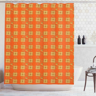Eastern Abstract Shower Curtain
