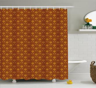 Venetian Leaves Shower Curtain
