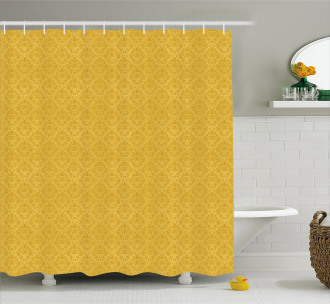 Stylized Plant Shower Curtain