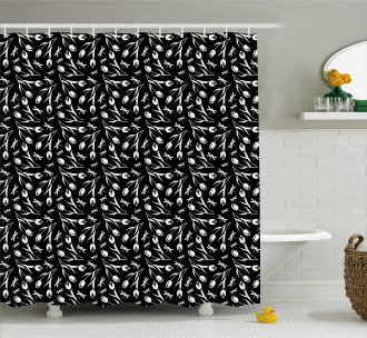 Dragonfly Tulip Shower Curtain