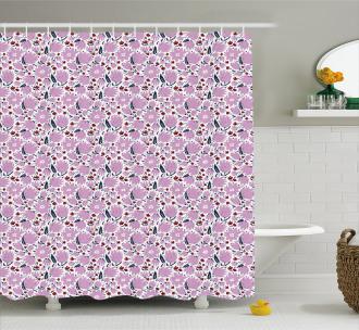 Garden Art Pattern Shower Curtain