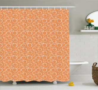 Ripe and Sweet Fruits Shower Curtain