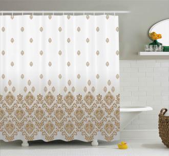 Vintage Romantic Art Shower Curtain