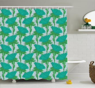 Exotic Florets Feng Shui Shower Curtain
