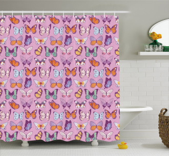 Emperor Butterfly Shower Curtain