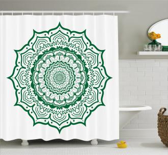 Vintage East Design Shower Curtain
