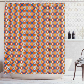 Native American Tribal Forms Shower Curtain