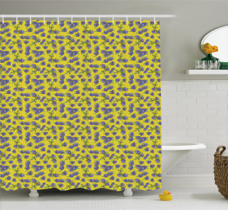 Narcissus Blooms Vintage Shower Curtain