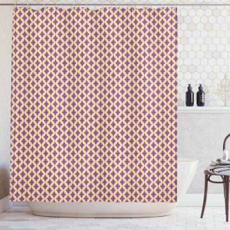 Ornate Motifs Abstract Shower Curtain