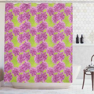 Spring Hydrangea Shower Curtain