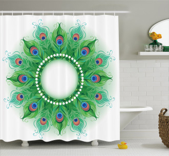 Exotic Inspiration Shower Curtain
