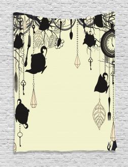 Diamonds Forks Spoons Tapestry