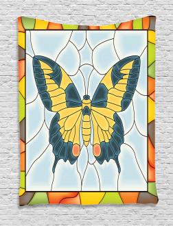 Frame Spring Garden Tapestry