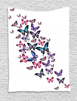 Cute Wings Feminine Tapestry