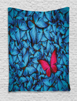 Large Bugs Lepidoptera Tapestry