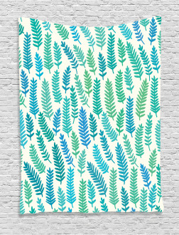 Branch Trees Summer Forest Tapestry