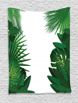 Tropical Exotic Palms Tapestry