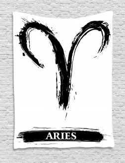 Aries Astrology Sign Tapestry