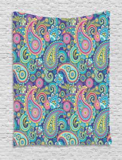 Bohem Ethnic Colorful Tapestry