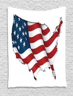United States Flag Tapestry