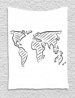 Sketch Outline Artful Tapestry