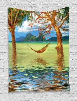 Trees in Tropical Land Tapestry