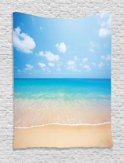 Tropical Sea Coast Sky Tapestry