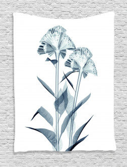Flowers X-Ray Vision Tapestry