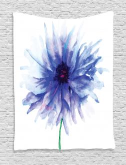 Earth Cornflower Tapestry
