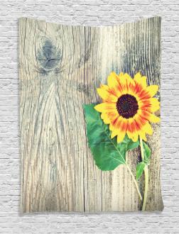 Wood Board Bouquet Tapestry