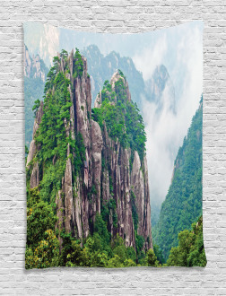 China Landscape Nature Tapestry