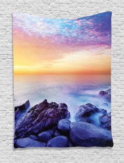 Morning Rainbow Colors Tapestry