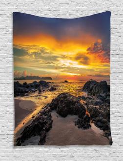 Majestic Sunrise Sky Tapestry