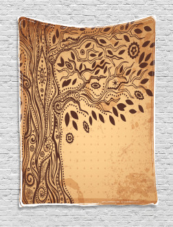 Tree of Life Tribal Tapestry