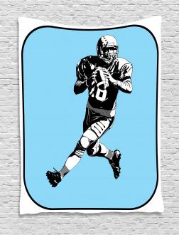 American Football Retro Tapestry