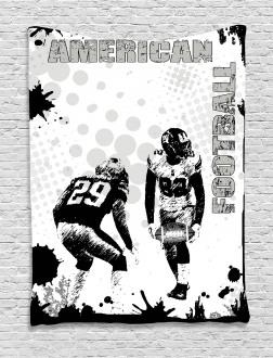 American Soccer Dot Tapestry