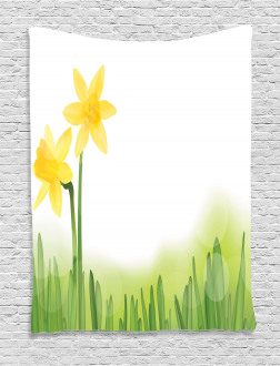 Daffodils with Grass Tapestry