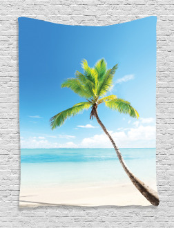 Palm Trees on Caribbean Tapestry