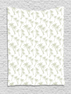 Tropic Coconut Palms Tapestry