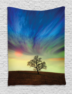 Surreal Sky Field Ombre Tapestry