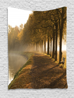 Walkway at Canal Misty Tapestry