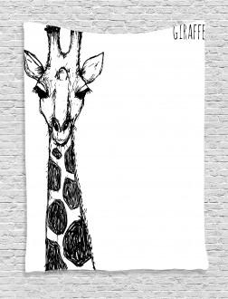 Safari Giraffe Tapestry