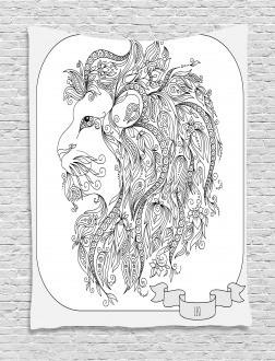 Zodiac Leo Lion Sign Tapestry
